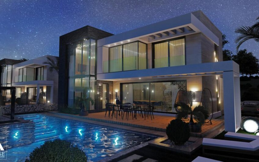 Didim Luxury 4+1 Villa, on 500 m2 Plot